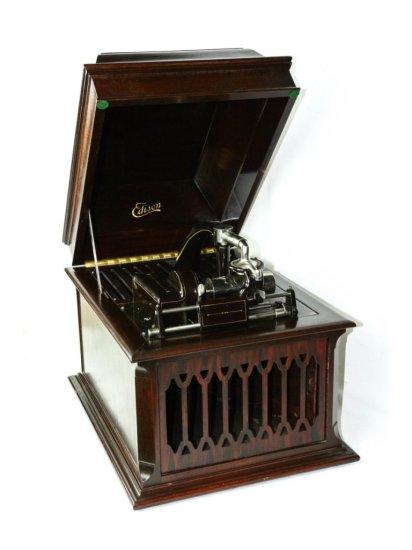 Edison Amberola V in Mahogany Case