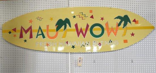 Maui Wowi Fresh Hawaiian Blends Tin Sign