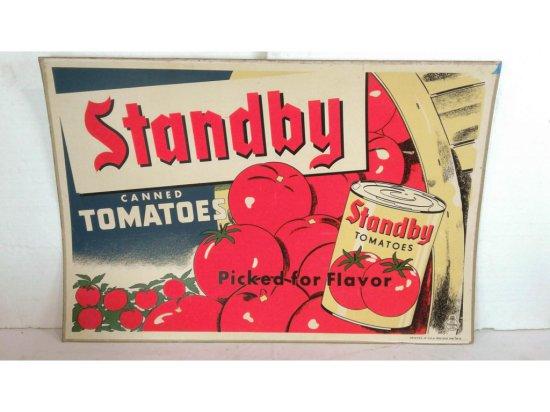 Sunkist/Tomato Advertisement Double Sided