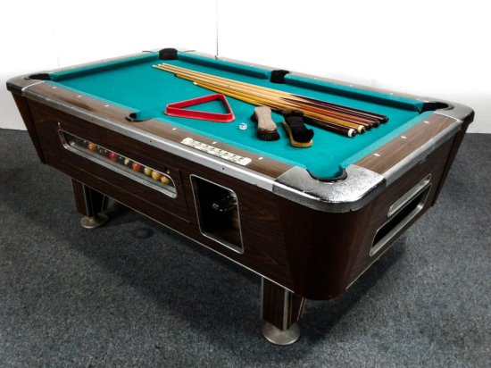 Pool Table Coin Operated Heavy Duty