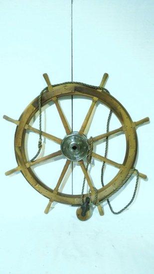 Maritime Ships Captains Wheel Antique
