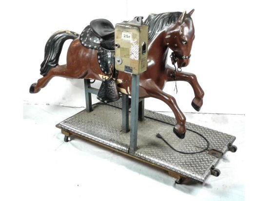 All Tech Horse Kiddie Ride Coin Operated
