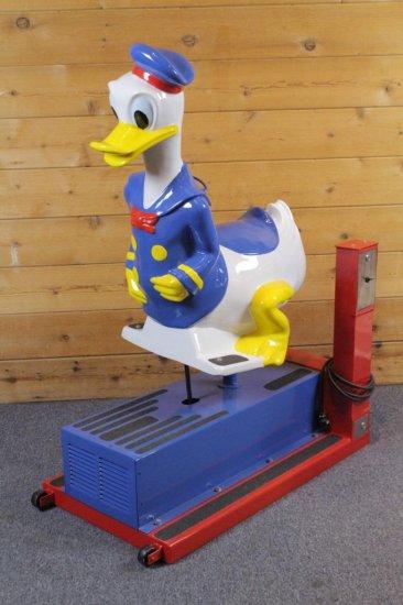 Donald Duck Kiddie Ride Restored