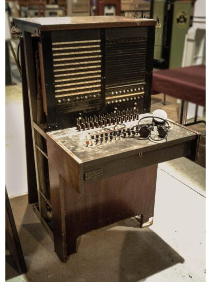 Telephone Switchboard Possibly Western Electric