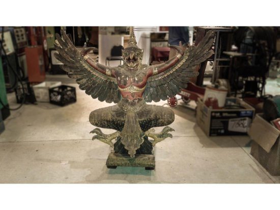 Ancient Indonesian Wood Carving