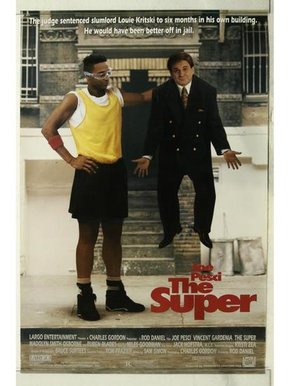 The Super Movie Poster One Sheet