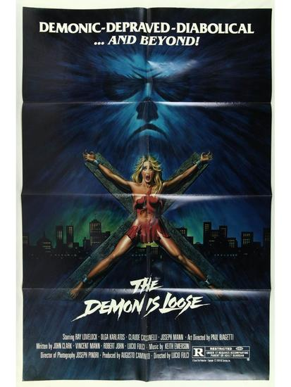 The Demon is Loose Movie Poster One Sheet