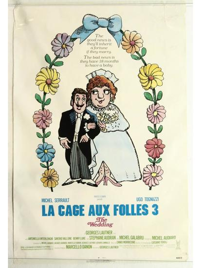 La Cage Aux Folles 3 Movie Poster One Sheet