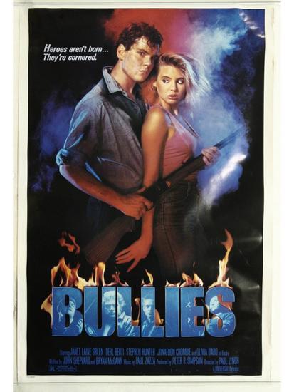 Bullies Movie Poster One Sheet