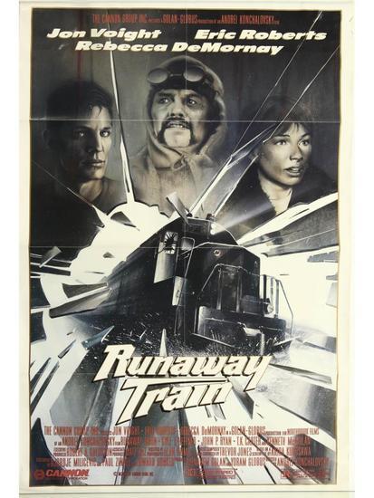 Runaway Train Movie Poster One Sheet