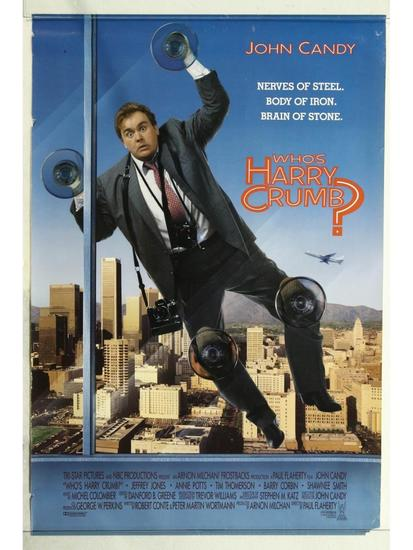 Who's Harry Crumb? Movie Poster One Sheet