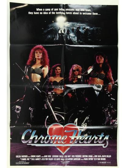 Chrome Hearts Movie Poster One Sheet