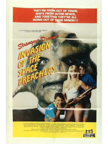 Invasion of the Space Preachers Movie Poster