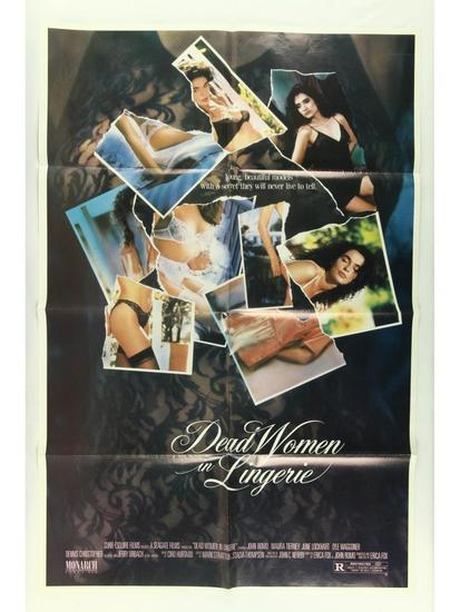 Dead Women in Lingerie Movie Poster One Sheet