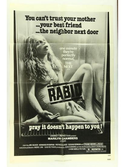Rabid Movie Poster One Sheet