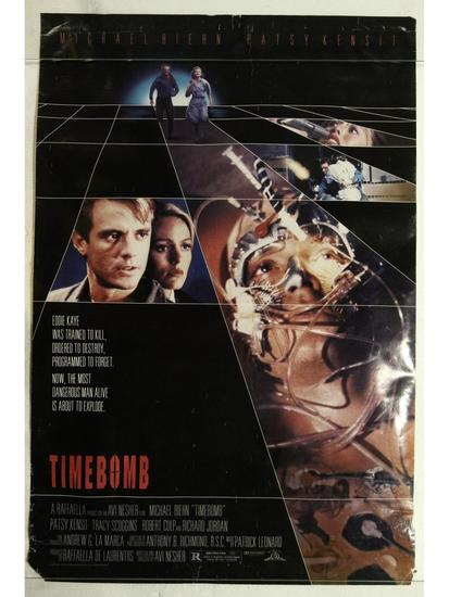 Timebomb Movie Poster One Sheet