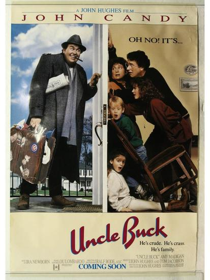 Uncle Buck Movie Poster One Sheet