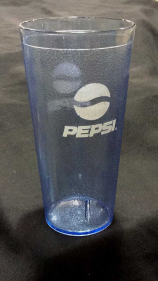 84 Plastic Pepsi Glasses