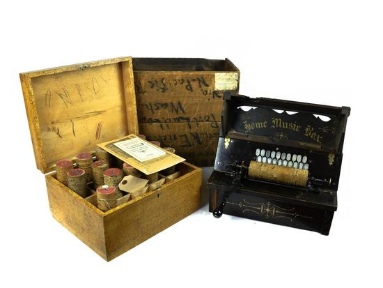 Home Music Box Cobb Roller Organ