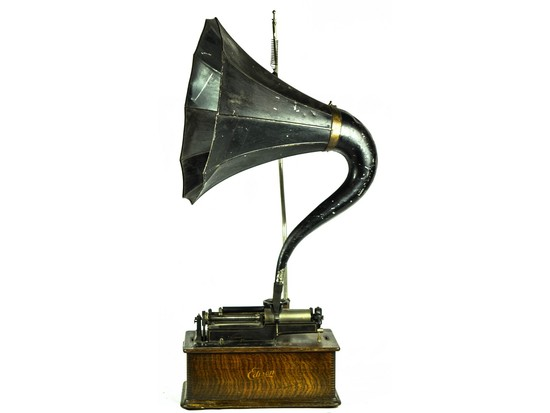 Edison Home Phonograph 2 & 4 Minute Flat Carriage