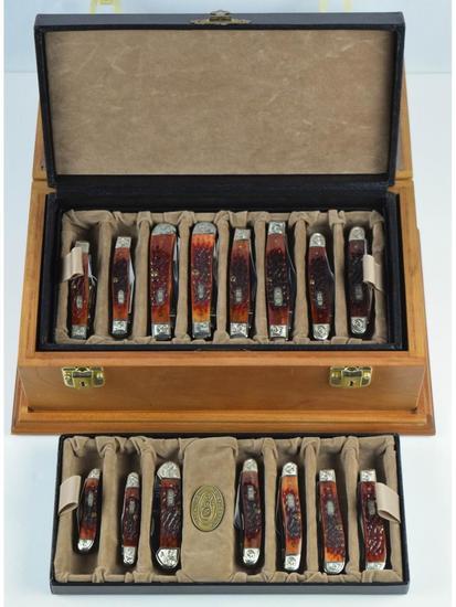 Case Chestnut Bone Ltd Edition Mint Set