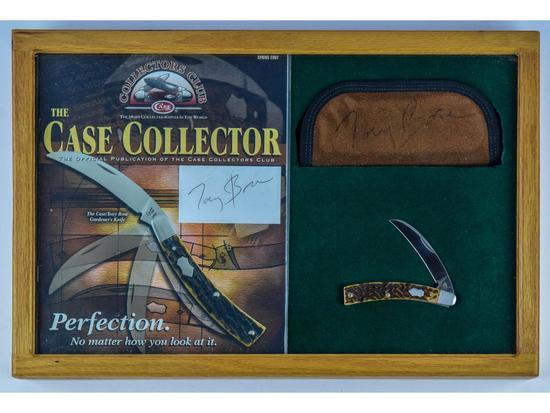Case Collectors Club Tony Bouse Gardeners Knife
