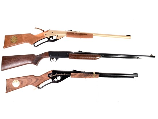 3 Daisy Air Rifles Red Ryder G    Auctions Online | Proxibid
