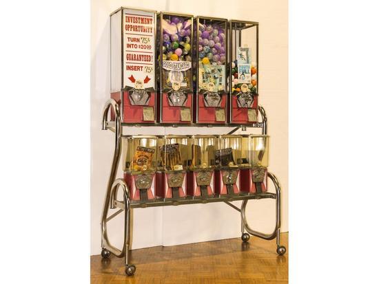 Gumball Candy Peanut Machine Vintage