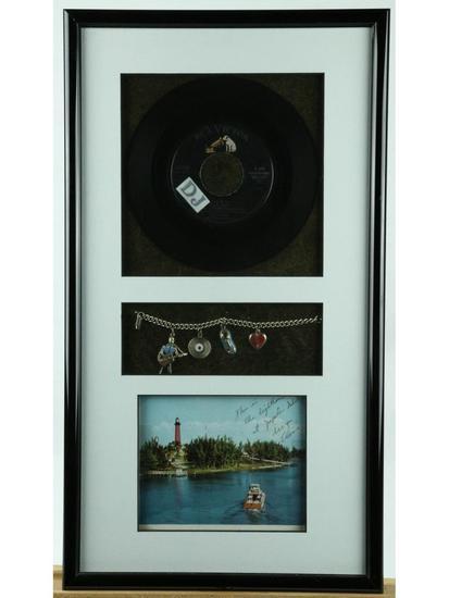 Elvis Presley Framed Mementos
