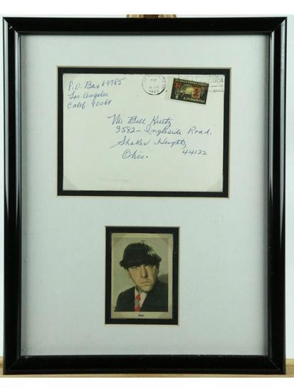 Three Stooges Moe Howard Envelope