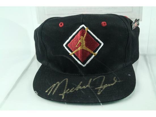 Michael Jordan Signed Baseball Cap