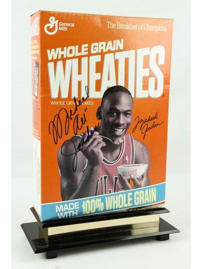 Michael Jordan Signed Wheaties Box
