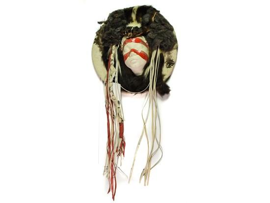 Native American Ceremonial Dance Shield