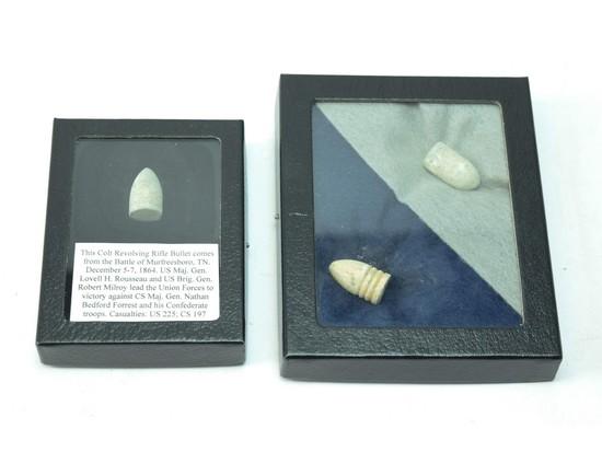 Civil War Bullets (3)