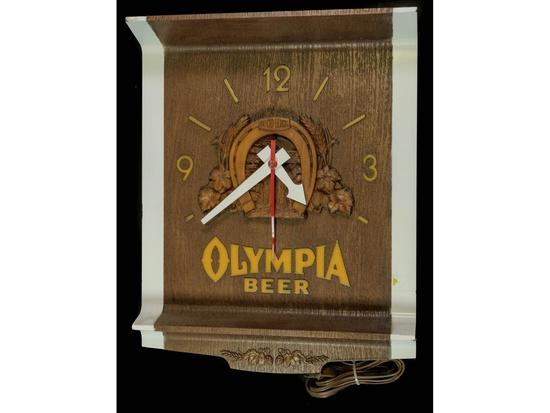 Olympia Beer Clock
