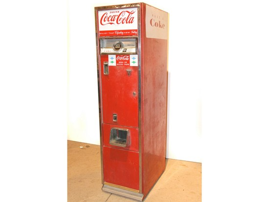 1950s Cavalier Coca-Cola Machine Model 55