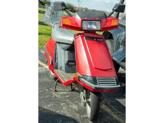 1986 Honda Spree Scooter Motor Scooter Combo | Vehicles