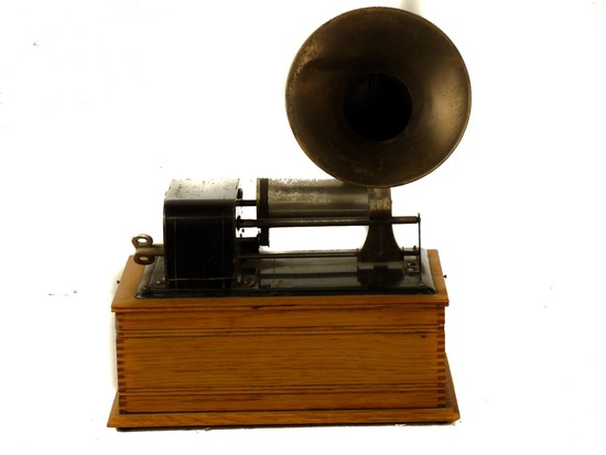French Cylinder Phonograph