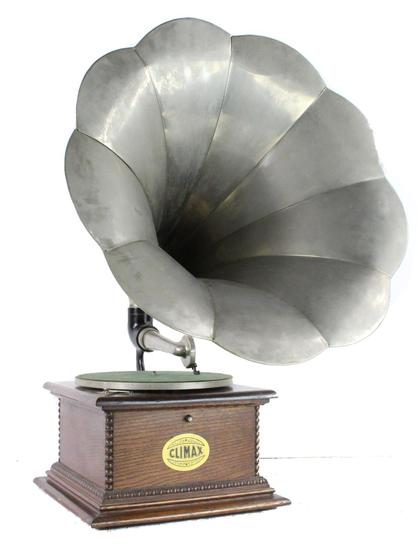 Climax Rear Mount Horn Phonograph