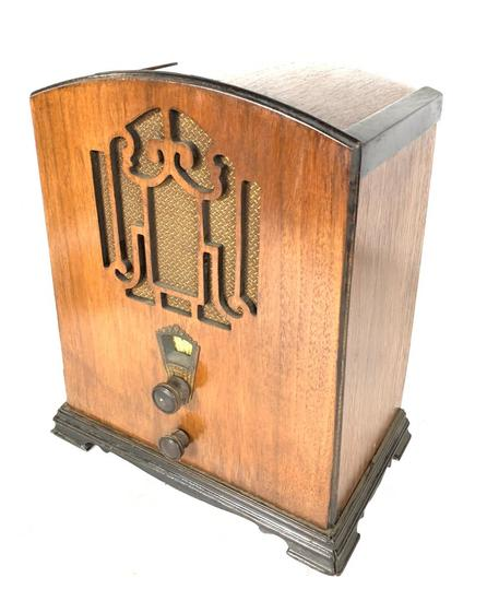 1930's Marconi Model 28 Tombstone Radio