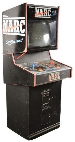 Williams N.A.R.C. Arcade Video Machine