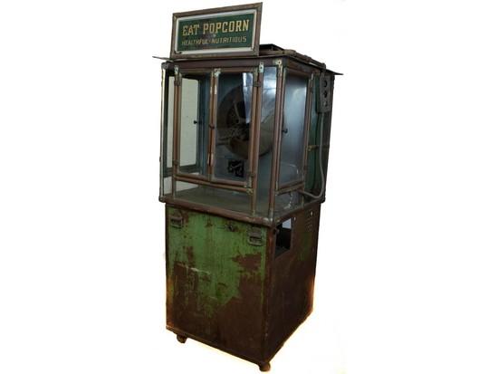 Early 1900's Kingery Popcorn Machine