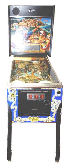 "Bally ""Gilligan's Island"" Arcade Pinball Machine"