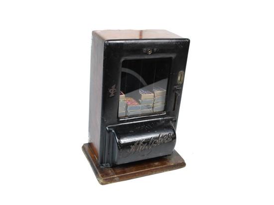 Coin-Op One¢ Match Box Dispenser Krema MFG. Co