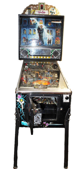"Bally ""Addams Family"" Arcade Pinball Machine"