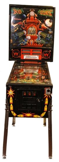"Williams ""Big Guns"" Arcade Pinball Machine"