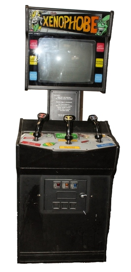 Bally Xenophobe Arcade Video Game