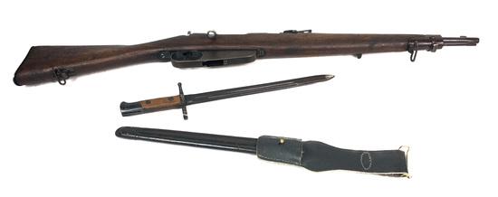 Italian Carcano M91/28 Carbine w/Bayonet 6.5 Cal