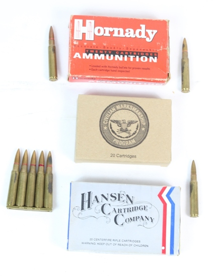 68 Rounds Japanese 7.7 MM Ammunition