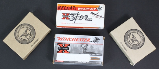 60 Rounds Dutch .6.5 Ammunition
